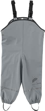 Sterntaler Pantaloni Impermeabili Sfoderati Con Bretelle Pantalon De Pluie regnbyxor