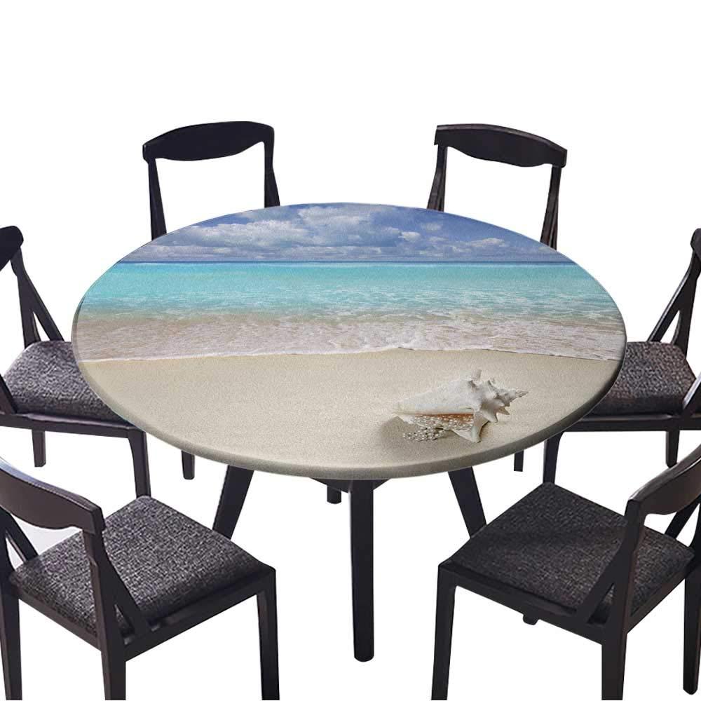 お手入れ簡単な布製テーブルクロス ベネチアのパノラマ イタリア製 自宅/パーティー/結婚式に (エラスティックエッジ) 35.5