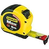 Stanley FatMax - Cinta métrica con gancho magnético (5 m x 28 mm)