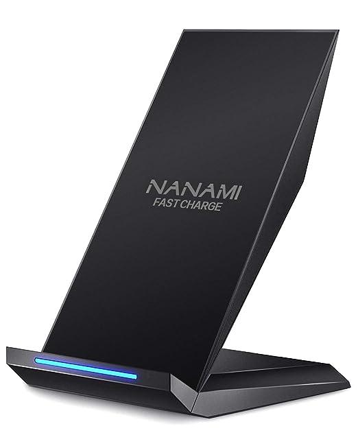 Nanami Schnellladegerät, Kabellos, Qi Zertifiziertes Ladegerät, Kompatibel Mit I Phone X / Xs / Xr / Xs Max / 8 / 8 Plus, Samsung Note 9, Galaxy S9, S9+, S8, S8+, Note 8, S7, S7 Edge Und Alle Qi Fähigen Geräten by Nanami