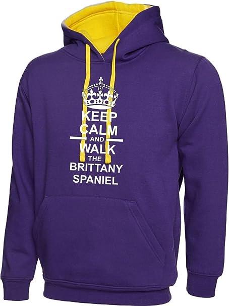 Keep Calm Hoodies - Sudadera con capucha - universidad - Cuello redondo - para hombre: Amazon.es: Ropa y accesorios