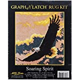 M.C.G. Textiles #37897 Latch Hook Kit, 30 by 36-Inch, Soaring Spirit
