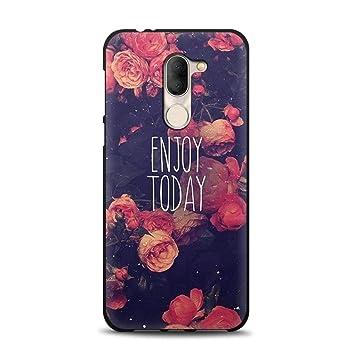 ZYQ Rose Elegant Style Funda Caso Teléfono TPU Silicona Case ...