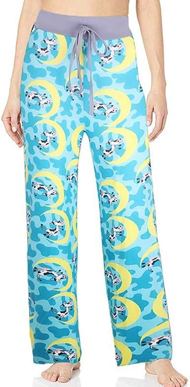 cinnamou Pantalones Mujer, Pantalones Mujer Verano Anchos ...