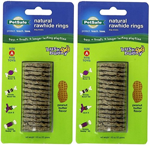 PetSafe Size A Busy Buddy Refill Ring Dog Treats for Select