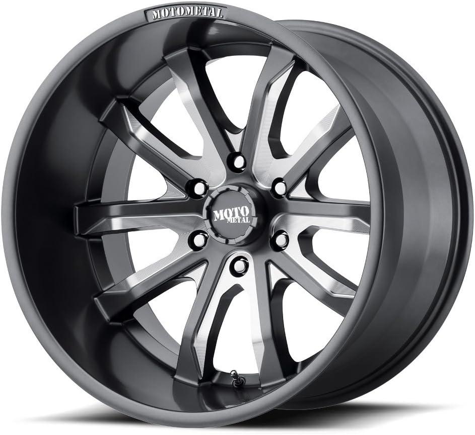 -18 Mm - MO98321068418N Moto Metal MO983 Satin Gray Milled Mo983 20X10 6X139.70 Gray