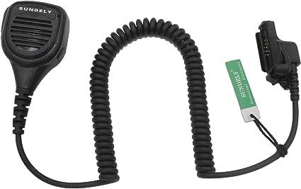 Waterproof Shoulder Mic Motorola MTX9000 XTS2500 XTS5000 HT1000 XTS3000 XTS350