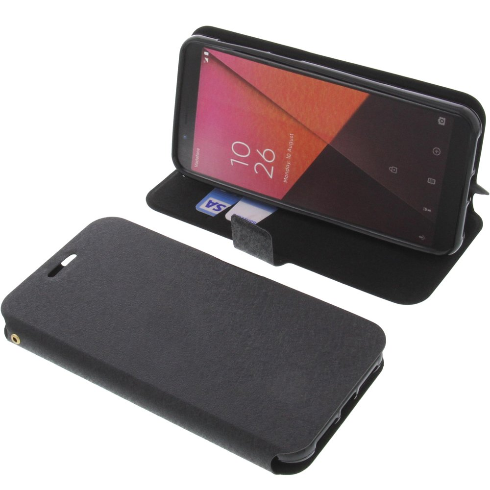 Cover for Vodafone Smart N9 book-style black case: Amazon co