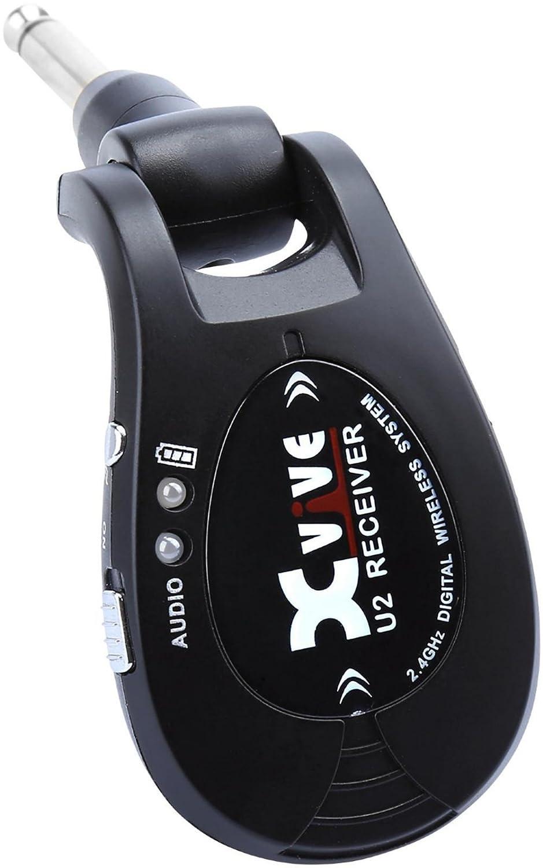 X-Vive U2 - Sistema inalámbrico de guitarra, color negro: Amazon.es: Instrumentos musicales