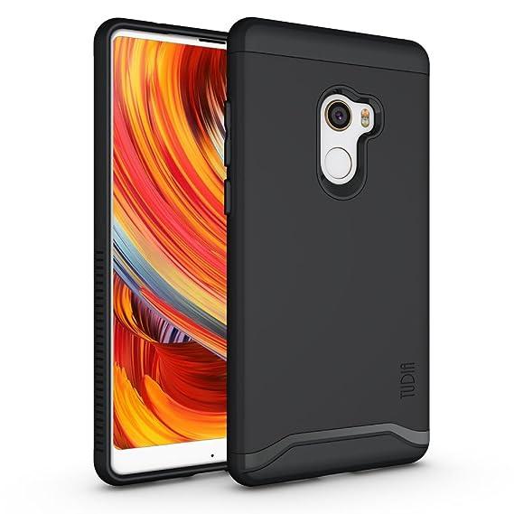 brand new 46743 42ddb Xiaomi Mi Mix 2 Case, TUDIA Slim-Fit Heavy Duty [Merge] Extreme  Protection/Rugged but Slim Dual Layer Case for Xiaomi Mi Mix 2 (Matte Black)