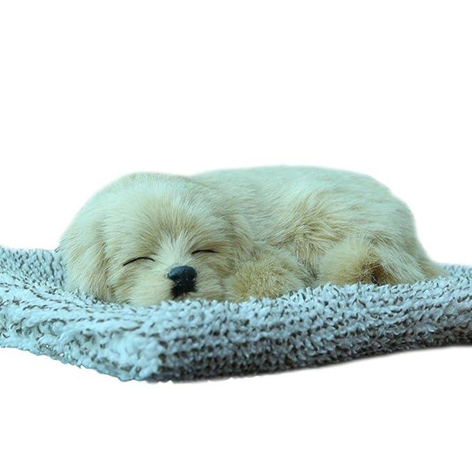 decoración hogar coche Sannysis Juguete de perro de aire purificado con carbón activo emular Juguete decorativo
