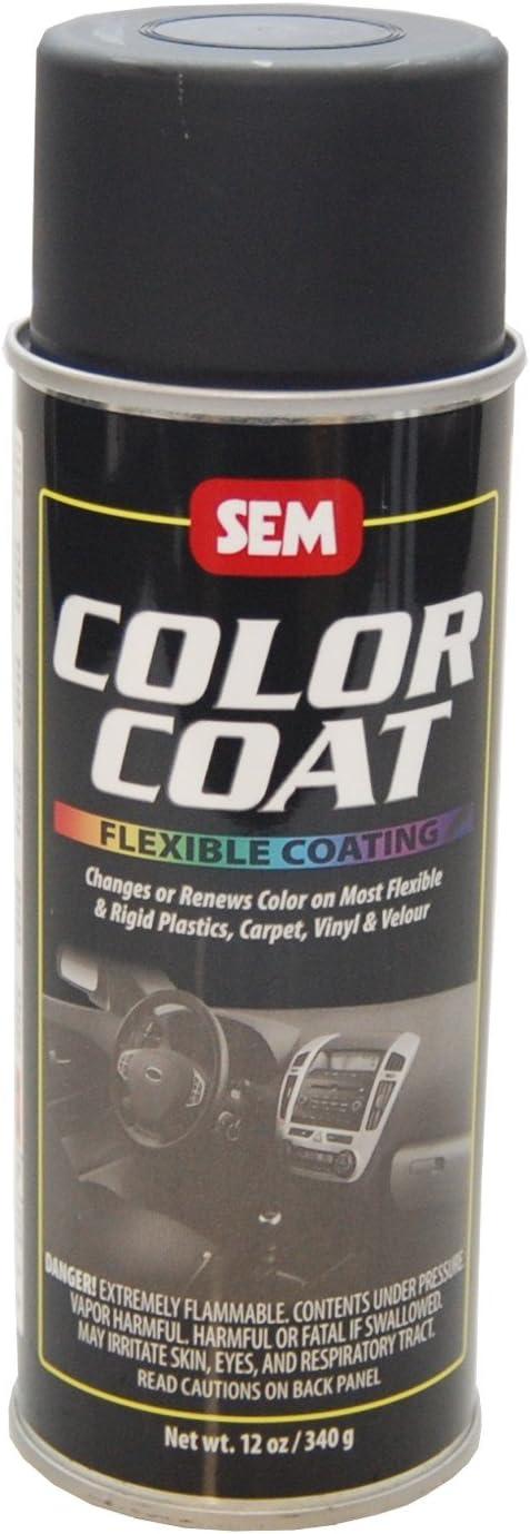 Tinte base disolvente en aerosol para cuero, vinilo, plasticos y moquetas (15243 Satin Black)