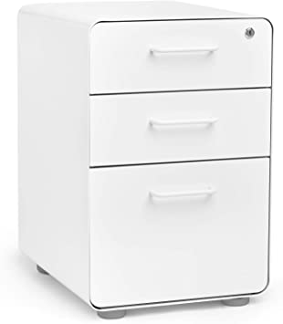 White Cabinet with Bright Drawers 20 drawers.Multi color.