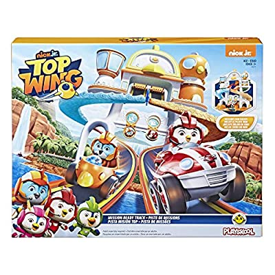 Top Wing Mission Ready Track Playset, Includes Ramp Jump & Double Vehicle Launcher Vehicles, Toy for Kids Ages 3 to 5: Toys & Games