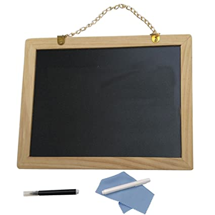 Amazon.com : JEMOTEK Chalkboard, Both Sides Writable ...