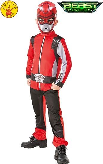 Rubies 300545M - Disfraz de Power Rangers para niños, multicolor ...