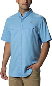 Columbia Mens PFG Low Drag Offshore Short Sleeve Shirt