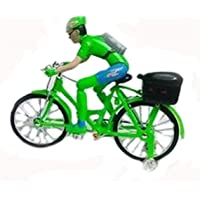 Battery Operated Street Bicycle With Musical Toy For Kids 27x 8 x 22.5cm (Green)