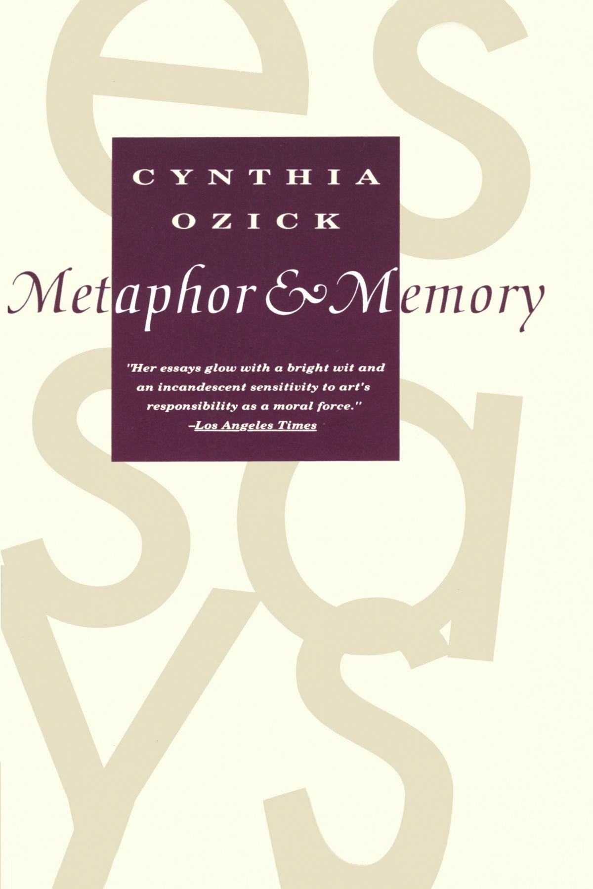 com metaphor memory cynthia ozick books