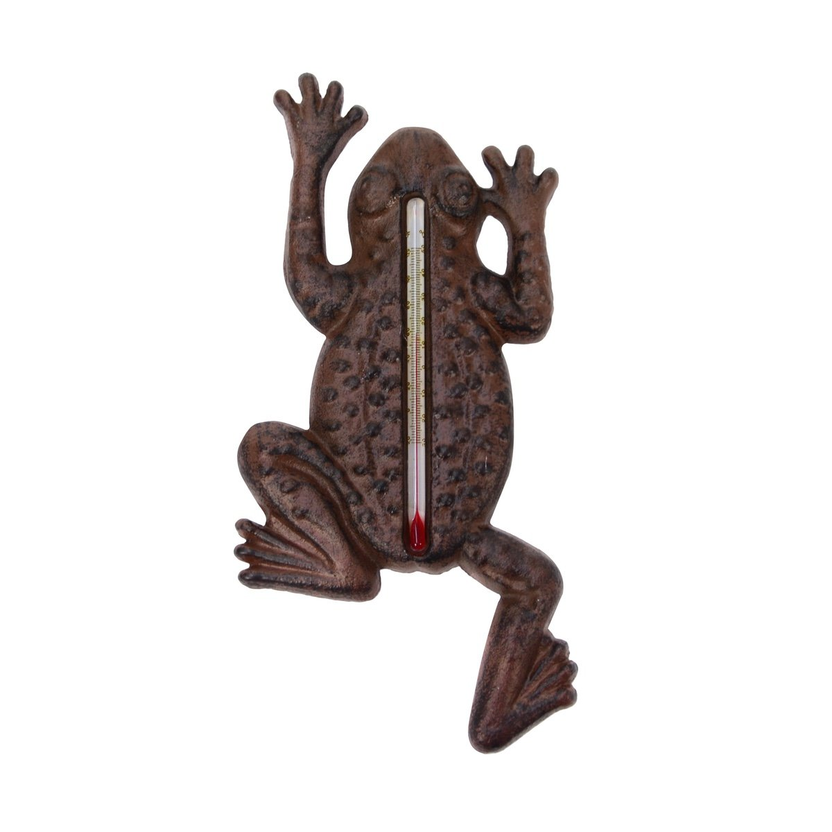 Garden Frog Indoor/Outdoor Thermometer Outside Temperature Gauge Home Wall Decor