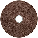 PFERD 48132 Combiclick Non-Woven Disc, Soft Type, 4-1/2'' Diameter, 10,500 RPM, Fine Grit (Pack of 10)