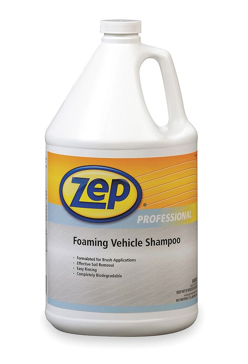 Zep Professional R08124 GreenLink Foaming Vehicle Shampoo, Blue (Case of 4 Gallons) by Zep Professional