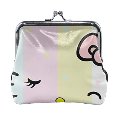 99ef16f3a Image Unavailable. Image not available for. Color: Buckle Coin Purses Light  Colors Hello Kitty ...