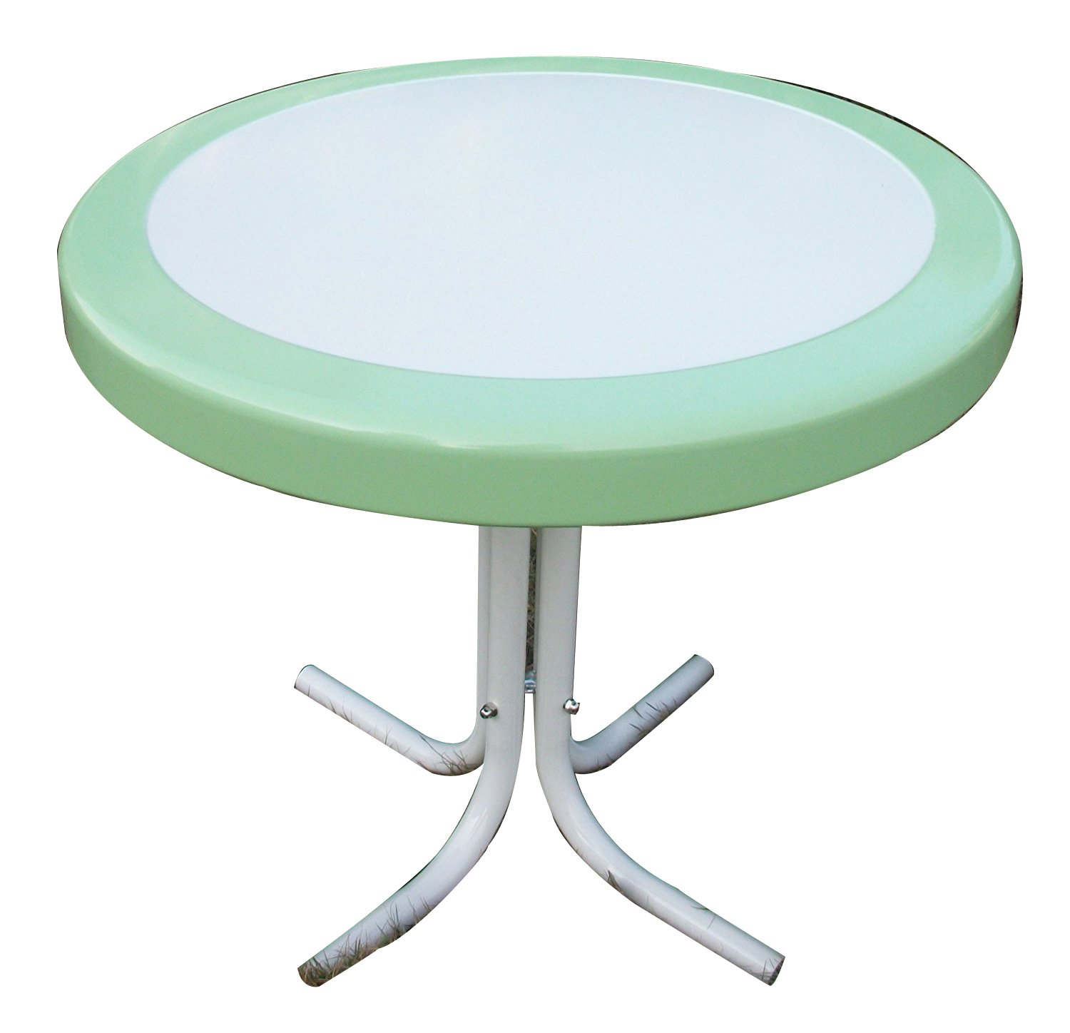 4D Concepts 71320 Metal Retro Round Table