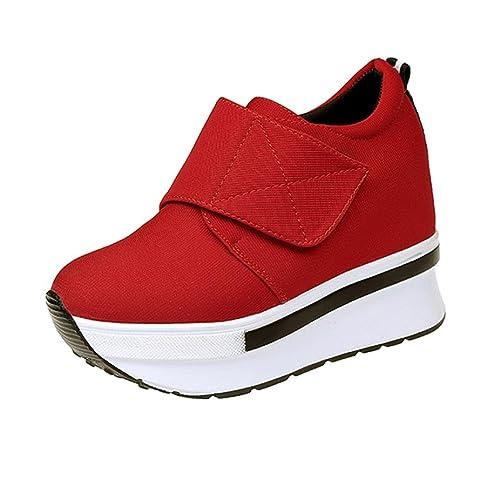 Beauty Top Sneakers Donna Scarpe Piattaforma Moda Sportive Casuale Scarpe da Ragazza Ginnastica Traspiranti Sneakerboots rDk6oG