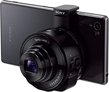 Sony Dsc Qx10 Smartshot Digitalkamera Inkl Sony G Kamera