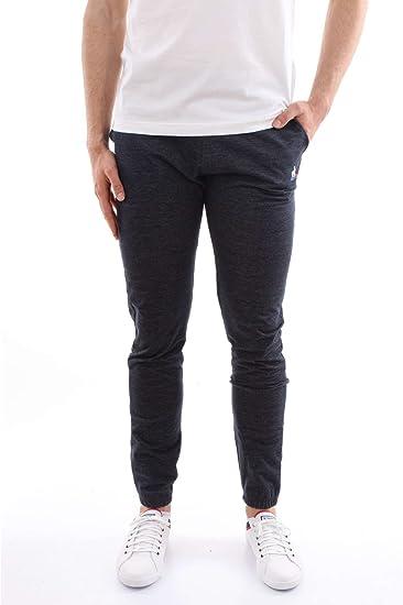 Le Coq Sportif 1810455-TRI-PANT-SLIM-DENIM Pantalones Hombre L ...