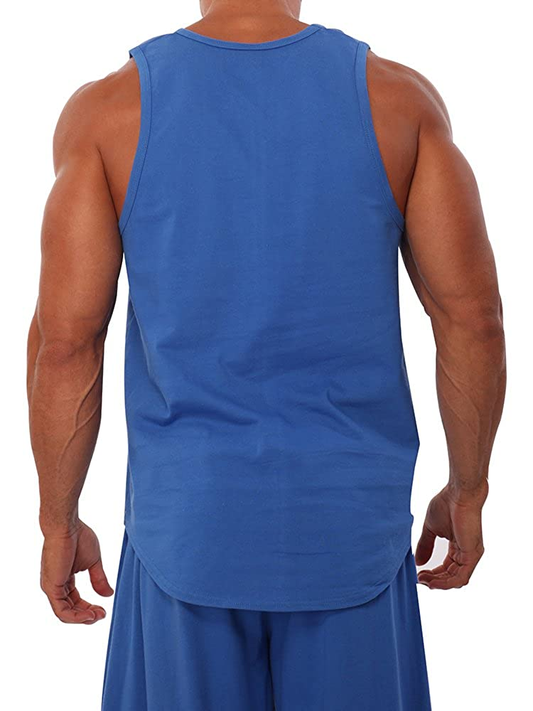 081651c661dfe Amazon.com  Mens Workout Tank Top Bad to the Bone by Pitbull  Clothing