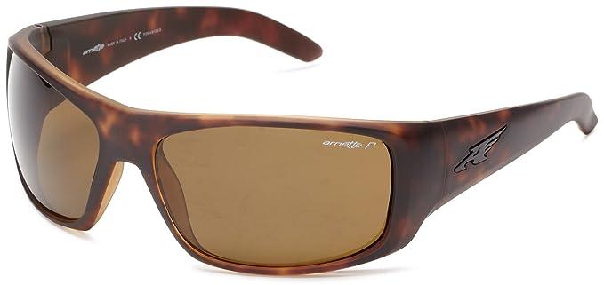 Arnette La Pistola Gafas de sol, Fuzzy Havana, 65 para Hombre