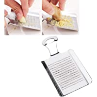 Iseedy Ginger Grater,Ginger/Garlic/Fruits/Root Vegetable Stainless Steel Food Grater