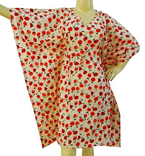 Cotton Kaftan Plus Size Maxi Kaftan Tunic Bathing Suit Cover Up Bohemian Caftan