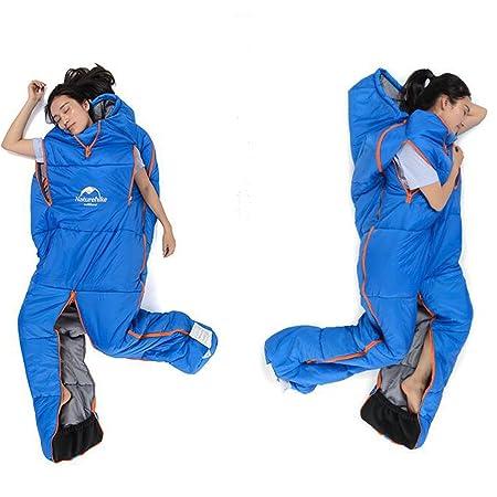 NON MagiDeal Saco de Dormir Forma Humana Impermeable Acampa Al Aire Libre Adulto: Amazon.es: Deportes y aire libre
