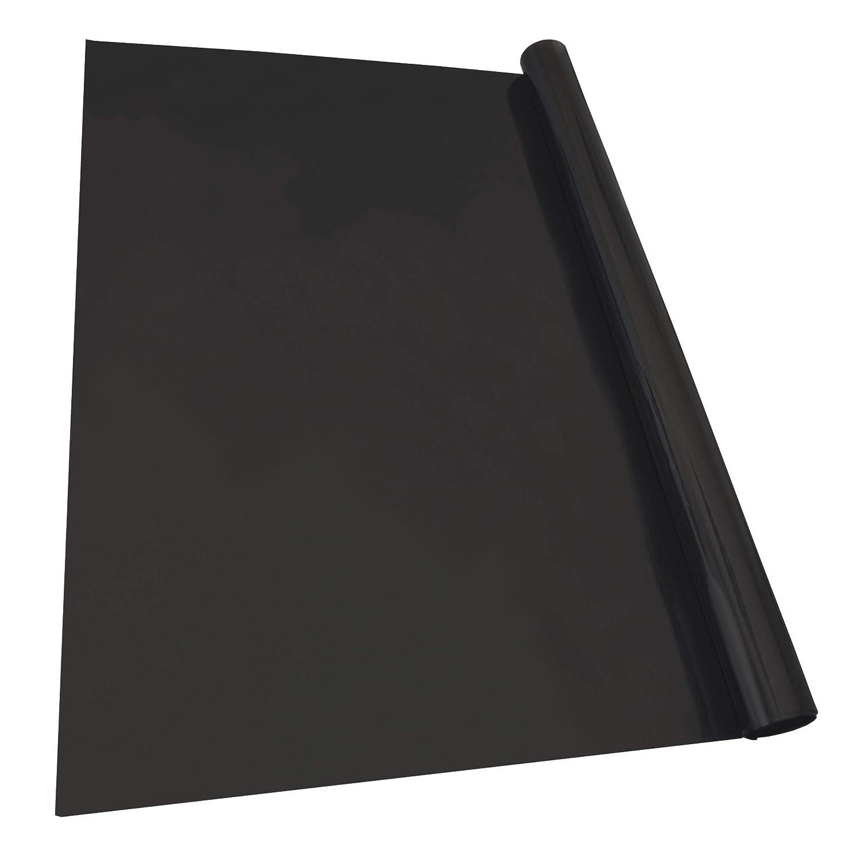 KRAWEHL 1324.0044821 AZ Noir Opaque Ref Film Solaire pour Vitrage Automobile 75 x 300 cm