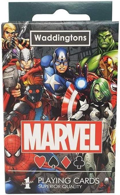 Marvel Universo Waddingtons número 1 Juego de Cartas: Amazon.es: Juguetes y juegos