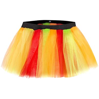 8de74b0486 Amazon.com: Gone For a Run Runners Thanksgiving Holiday Tutu | Festive Fall  Colors | One Size Fits Most: Clothing