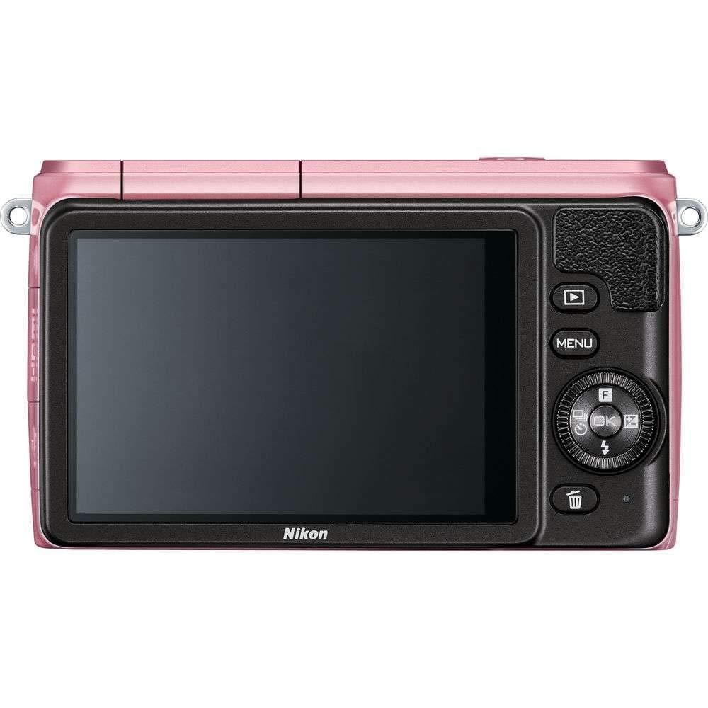 Nikon 1 S1 10.1MP Pink Digital Camera with 11-27.5mm Lens - (Certified Refurbished) by Nikon (Image #4)