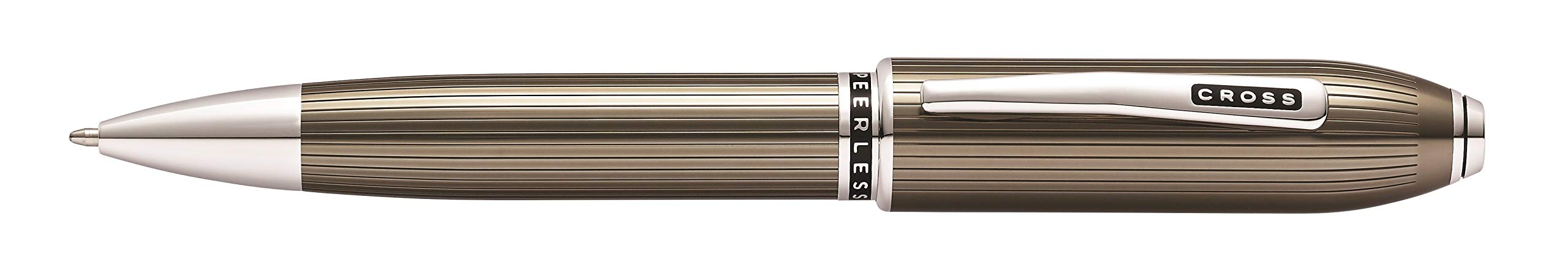 Cross Peerless Translucent Titanium Gray Ballpoint Pen by Cross (Image #1)