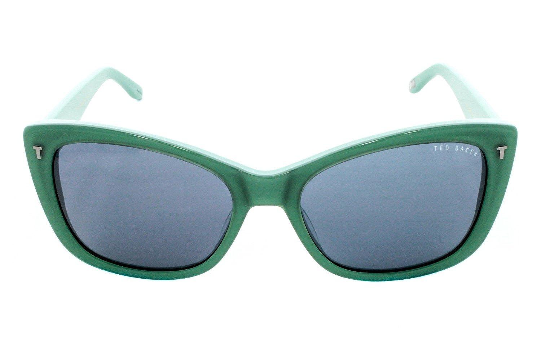 baca75a2f8 Amazon.com  Ted Baker Women s Sunglasses B566 Green Size 57  Clothing