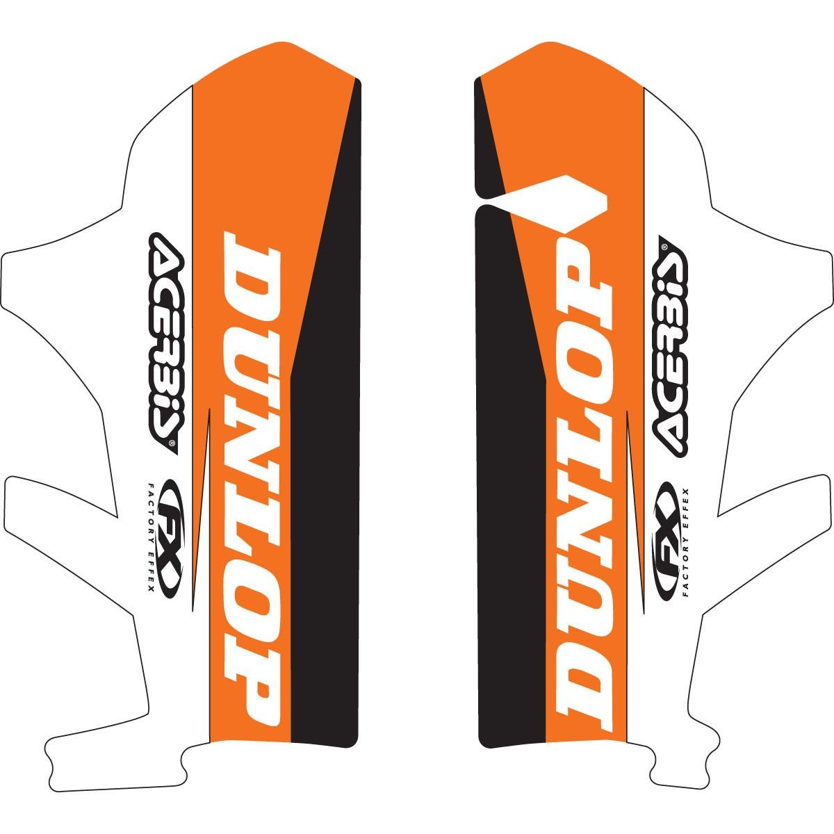 Factory Effex (17-40570) Lower Fork Graphic