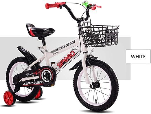 DT La Nueva Bicicleta para niños 2-4-6 años Niño niño 6-7-8-9-10 ...