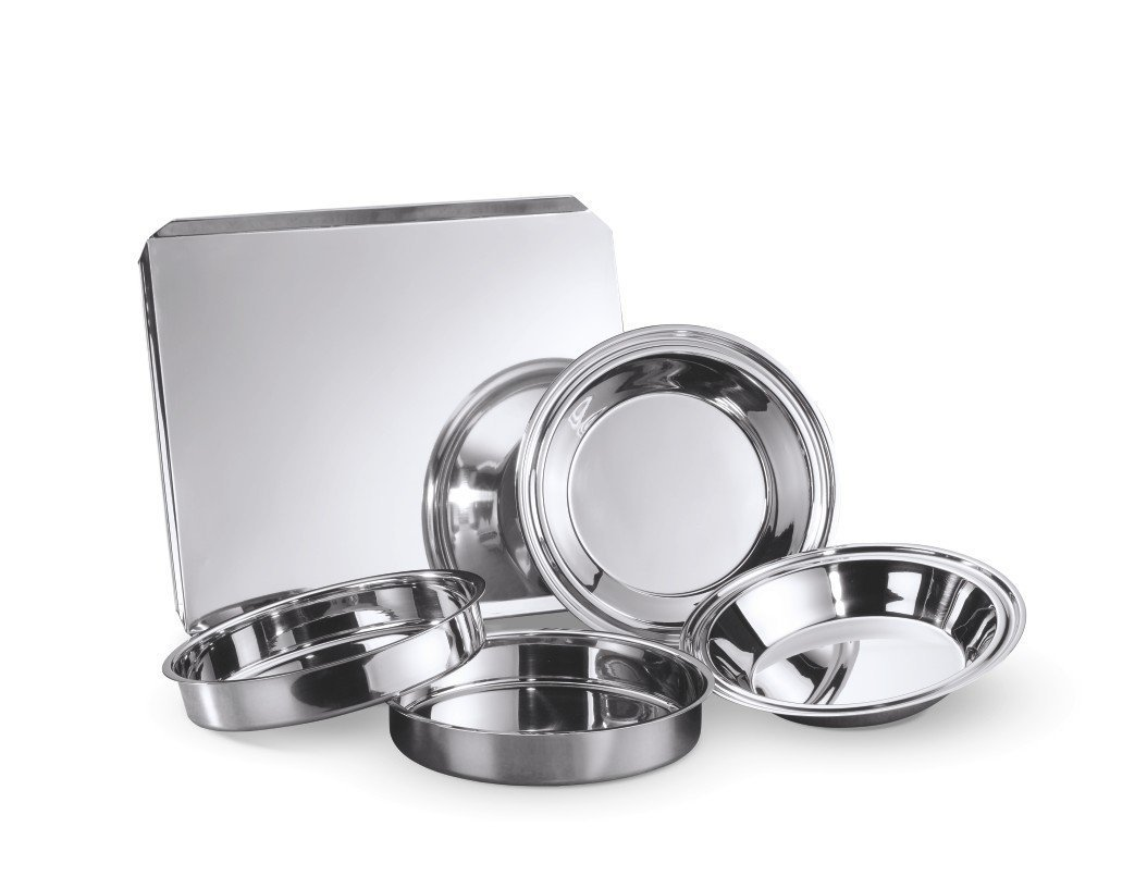 Hammer Stahl 5 Piece Classic Bake Set, Stainless Steel