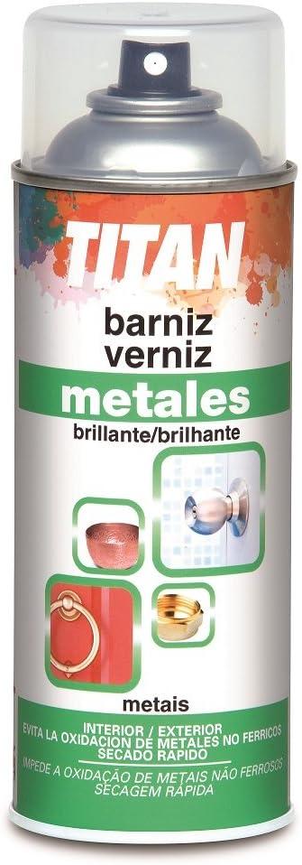 Titan M47811 - Barniz para metales 400 ml spray