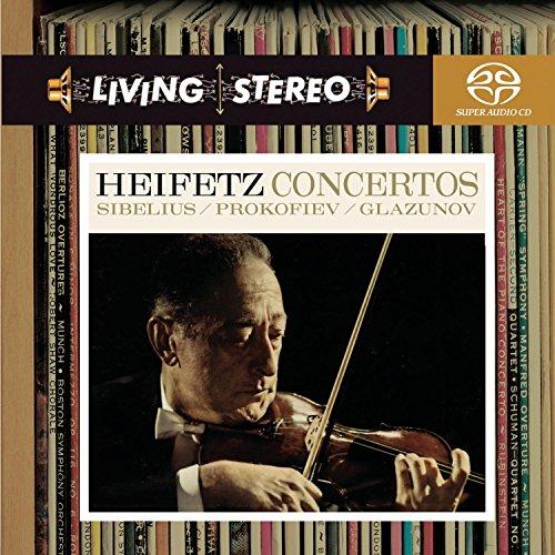 SACD : Jascha Heifetz - Violin Concertos (Hybrid SACD)