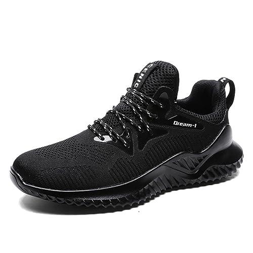 c1445ff2 MAXTOP Zapatillas de Running Hombre Correr Sneakers Transpirables Zapatos  Casual Respirable Deportes Gimnasio Aire Libre: Amazon.es: Zapatos y  complementos