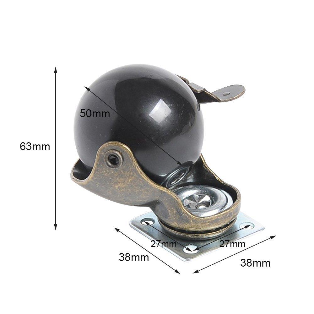 sourcingmap 2stk M32 EPDM Gummi Gef/üttert U Geformt Rohr Schlauchklemmen Verschluss de