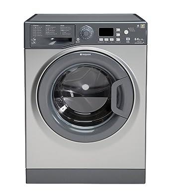 Hotpoint WDPG8640G Independiente Carga frontal A Grafito lavadora ...